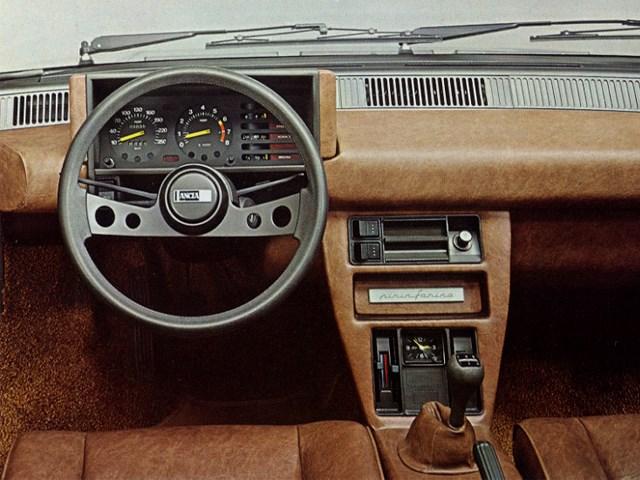 Interieur Lancia Beta Montecarlo