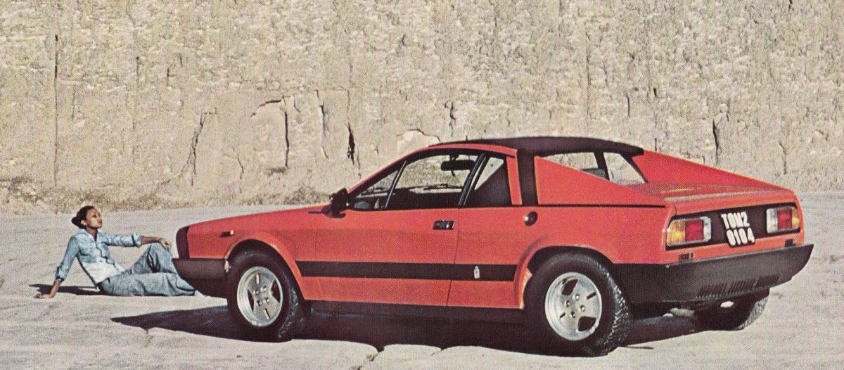 Lancia Beta Montecarlo - Rood