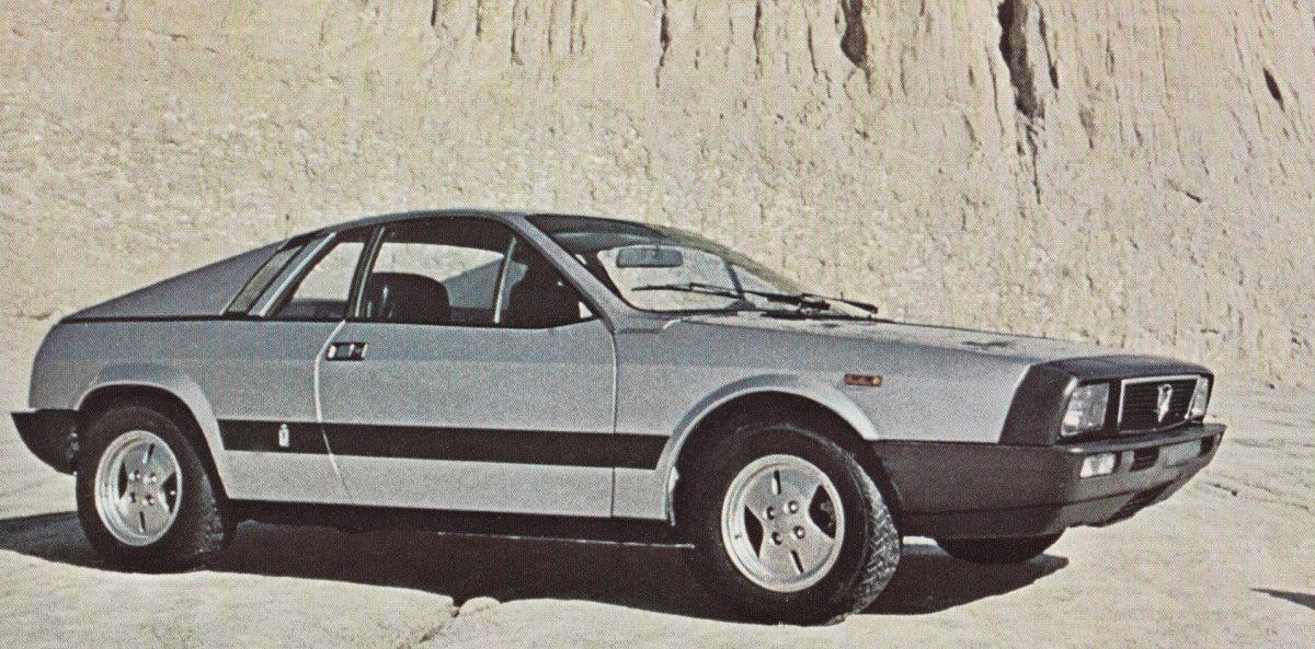 Lancia Beta Montecarlo - Zilver - 5