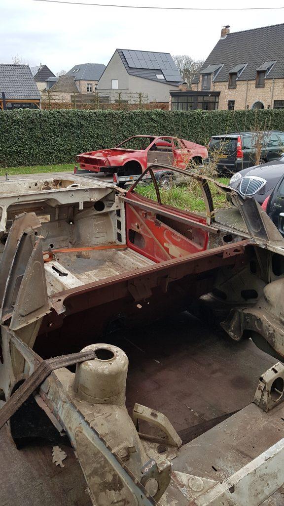 Die twee Lancia Montecarlo's