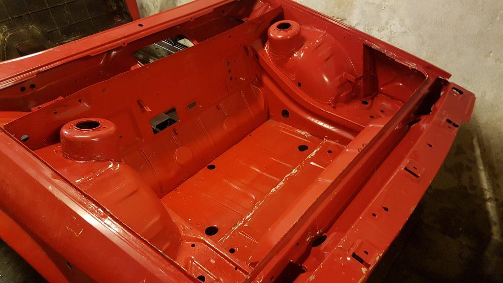 Resultaat schoonmaak Lancia Montecarlo