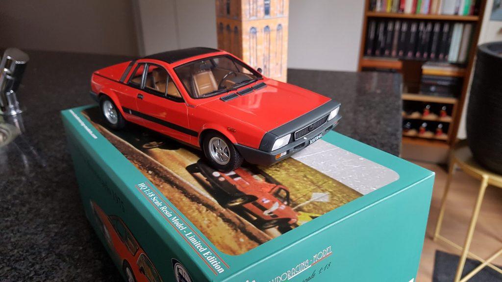 Modelletje Lancia Montecarlo