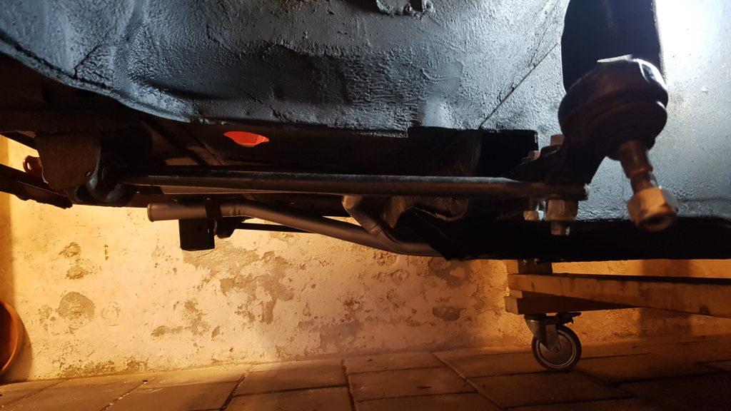 Lancia Montecarlo voorwielophanging
