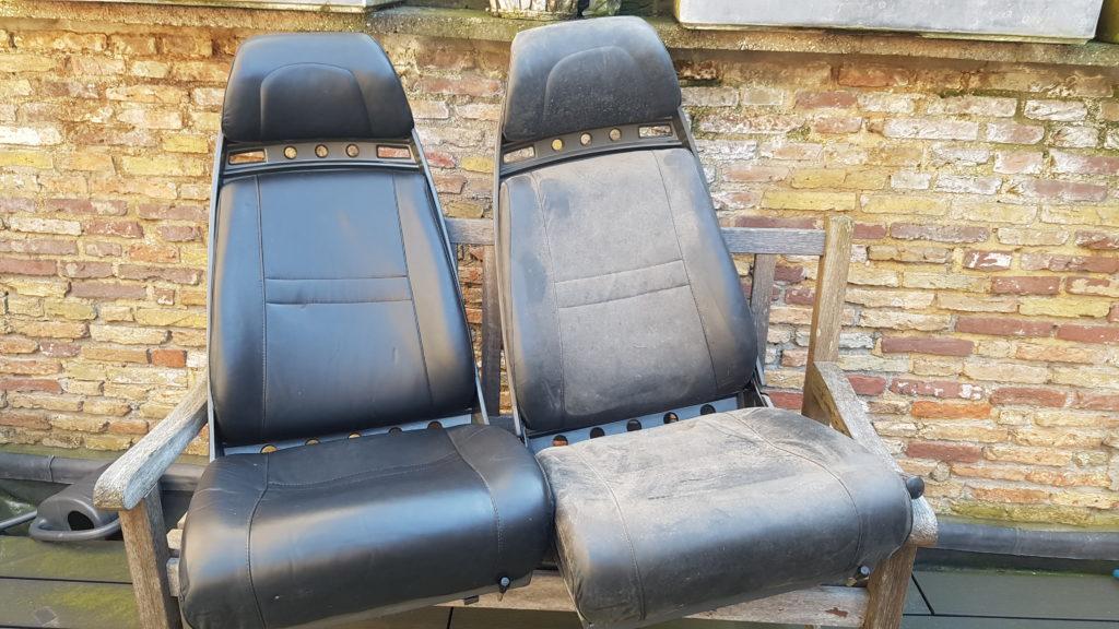 Lancia Montecarlo stoelen reinigen