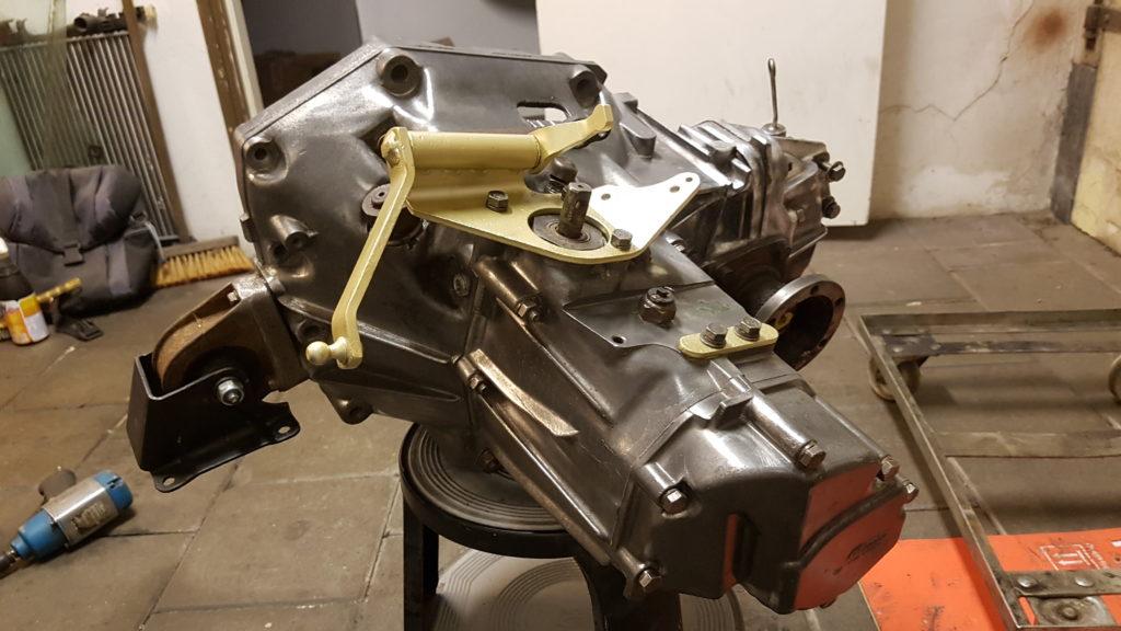 Lancia Montecarlo versnellingsbak