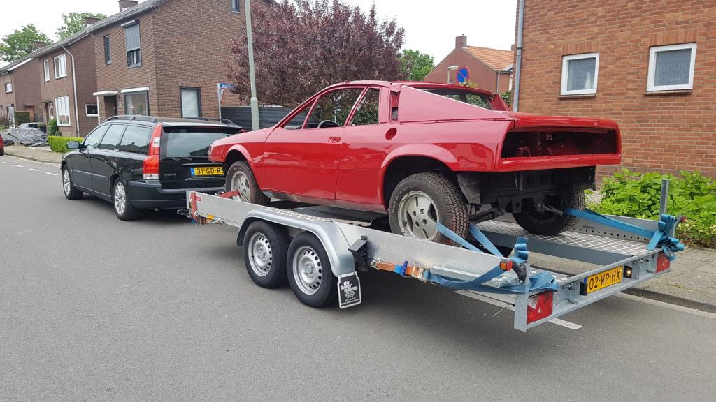 Lancia Montecarlo op transport