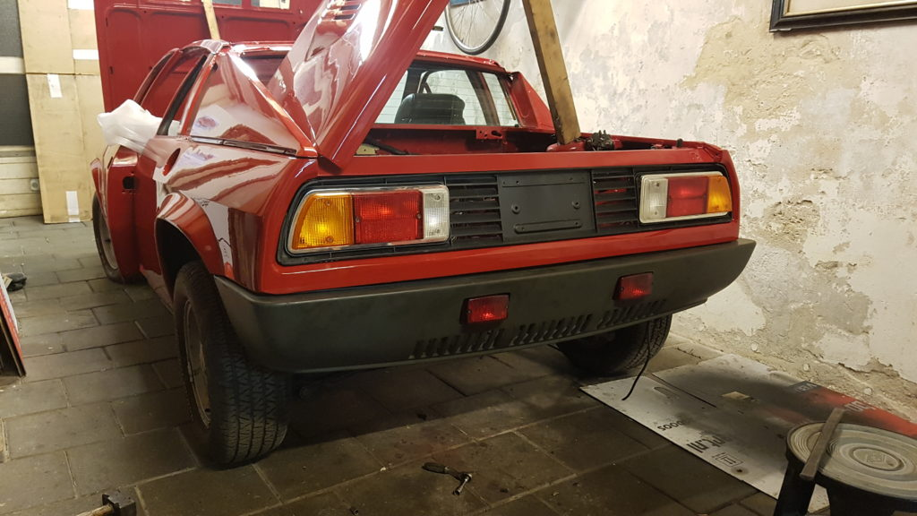 Lancia Montecarlo achterbumper