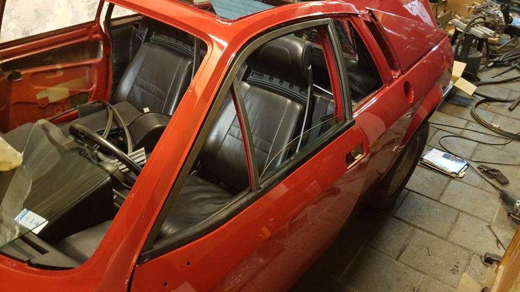 Lancia Montecarlo bestuurderszijde deur