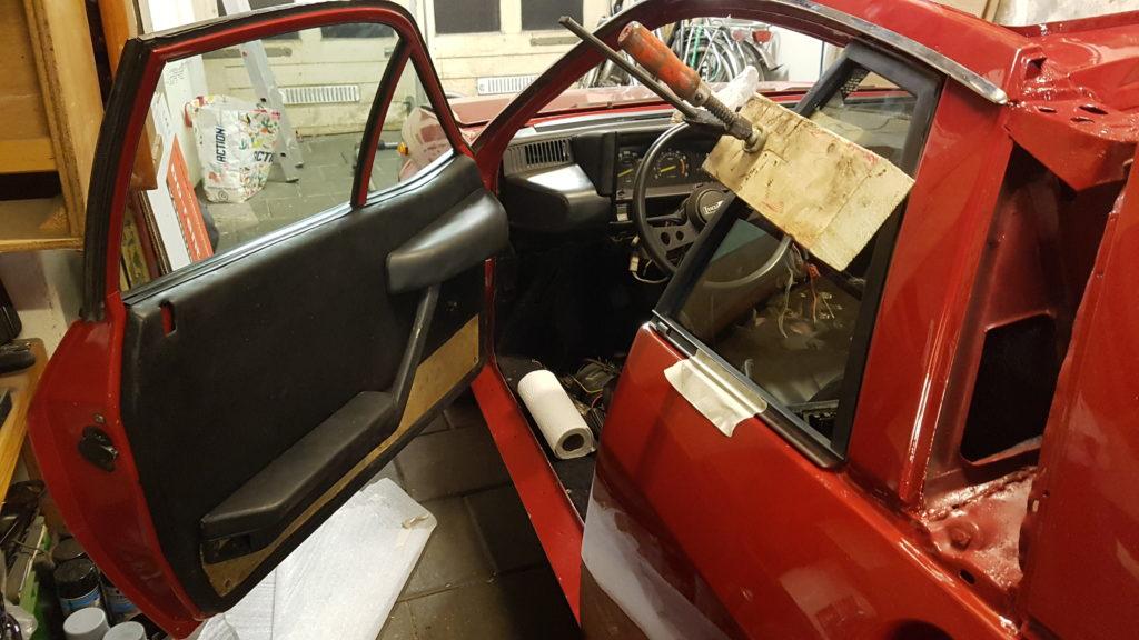 Lancia Montecarlo ruitje B-stijl