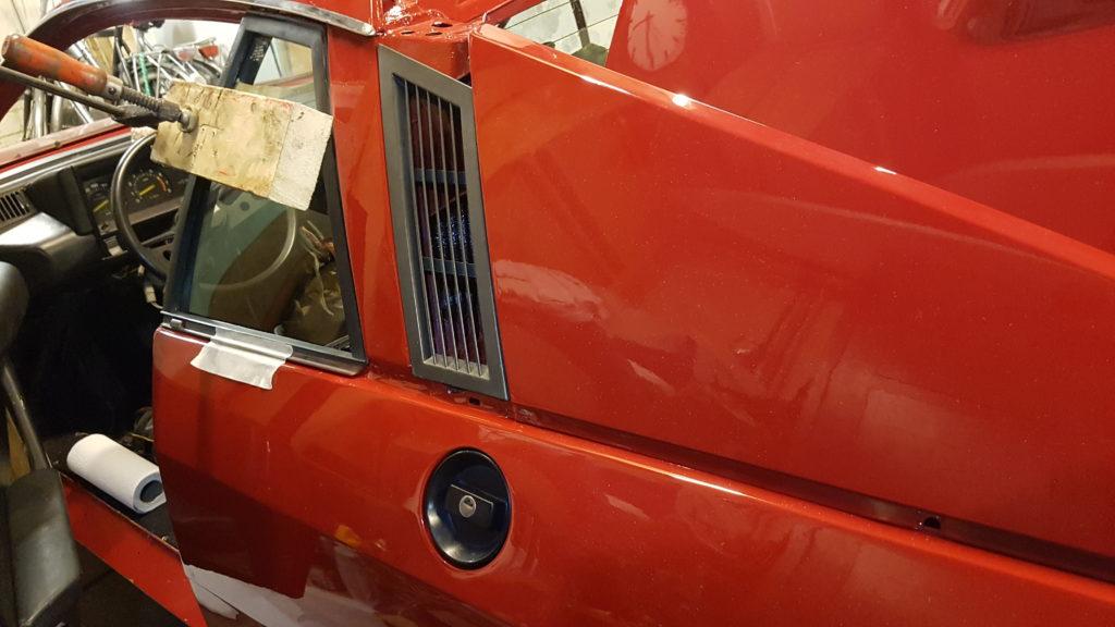 Lancia Montecarlo Tankdop