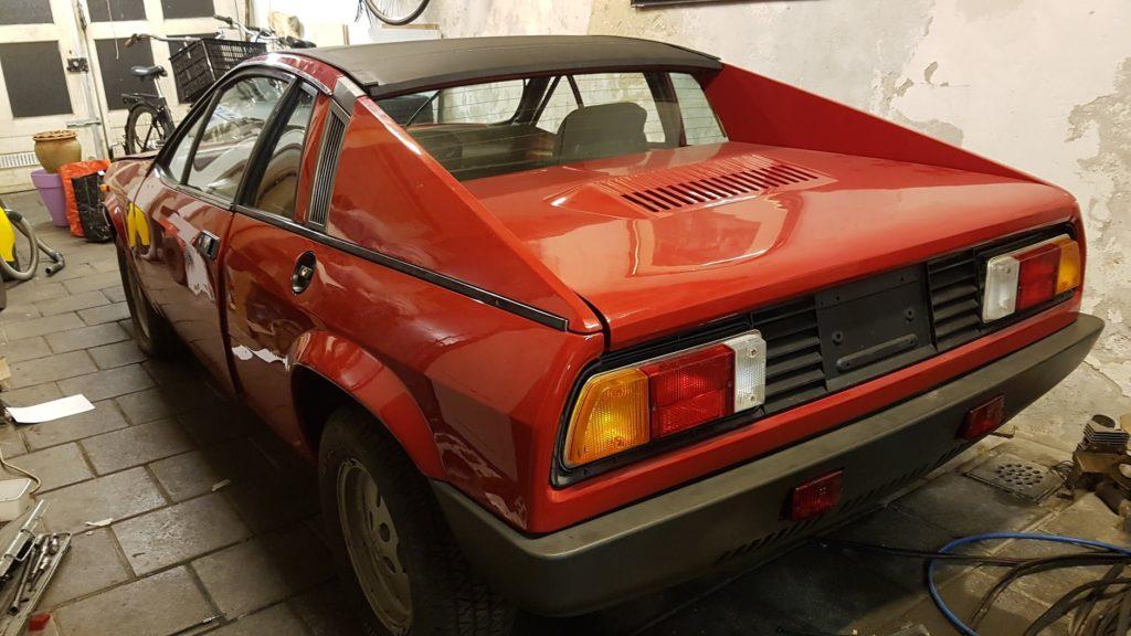 Lancia Montecarlo Zijkant gereed