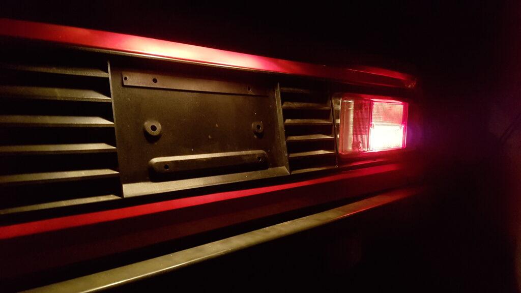 Lancia Montecarlo Luci posteriore