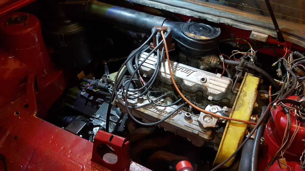 Lancia Montecarlo Motorruimte