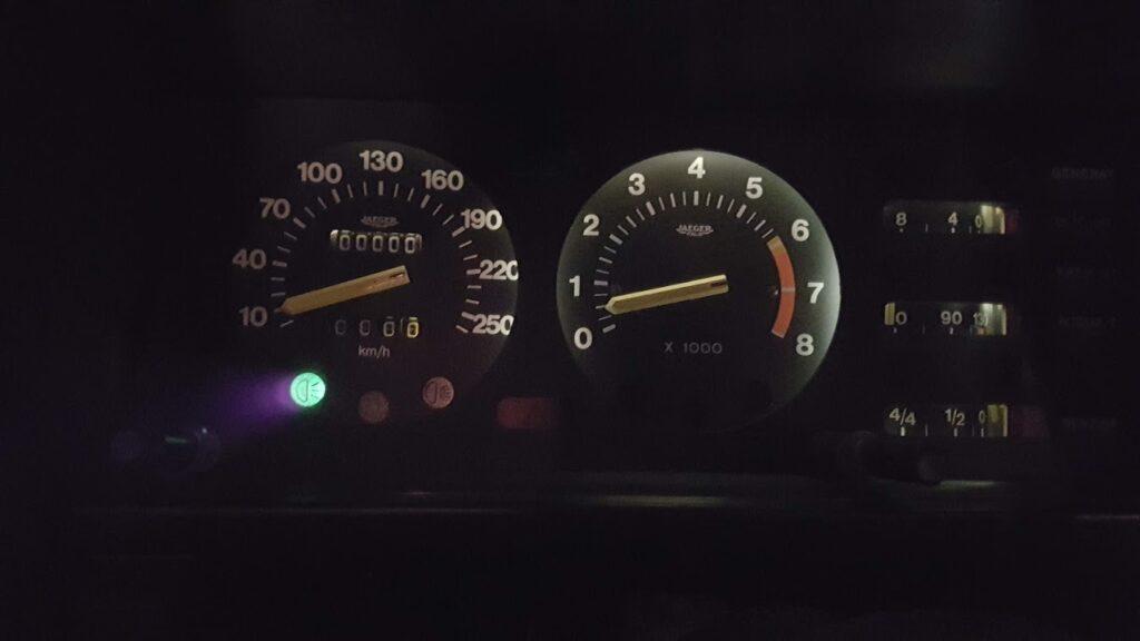 Lancia Montecarlo Klokkenwinlel verlicht