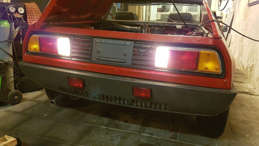 Lancia Montecarlo Achteruitrijlichten