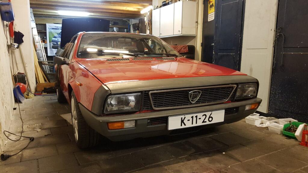 Lancia Montecarlo bijna klaar