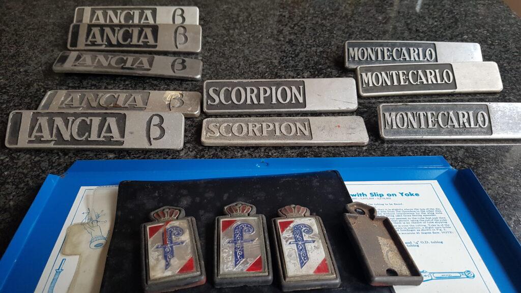 Lancia Montecarlo emblemen