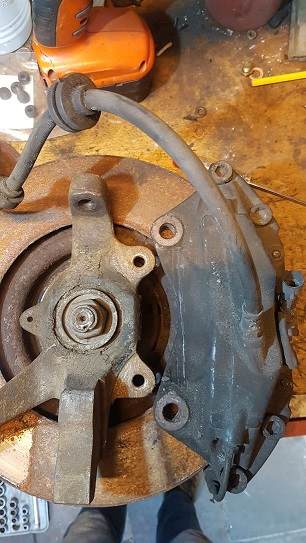 Lancia Montecarlo Big Brakes