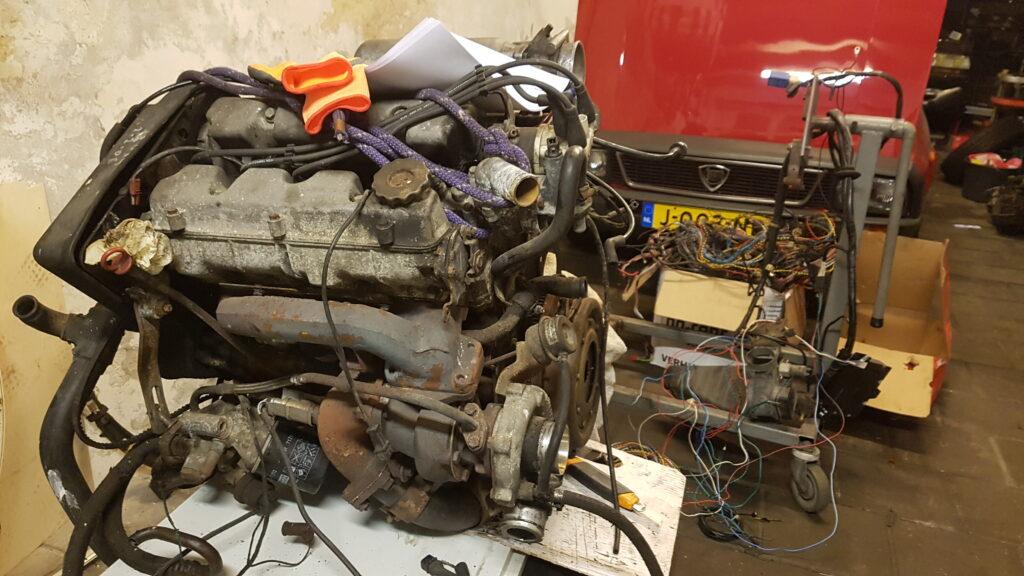 Lancia Montecarlo i.e. Turbo motor