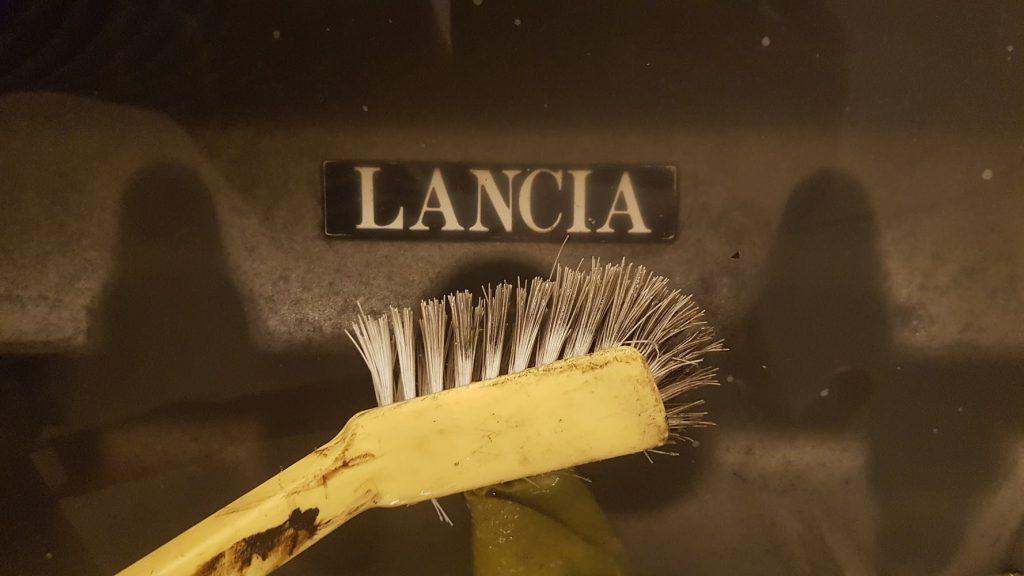 Lancia Beta Montecarlo wassen