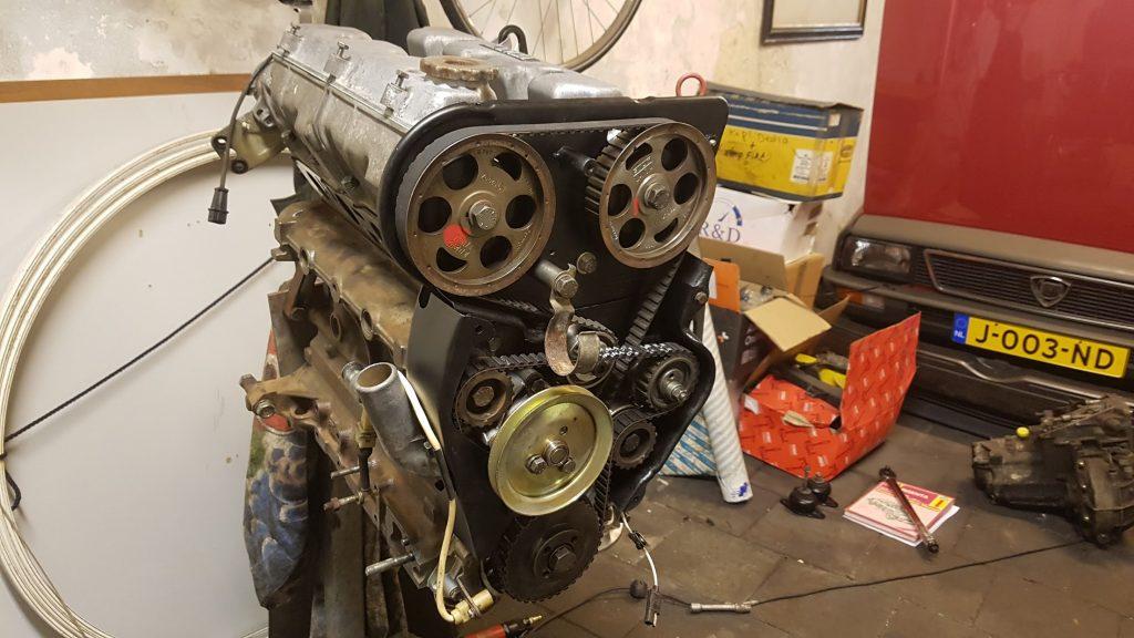 Lancia Beta Montecarlo motorblok