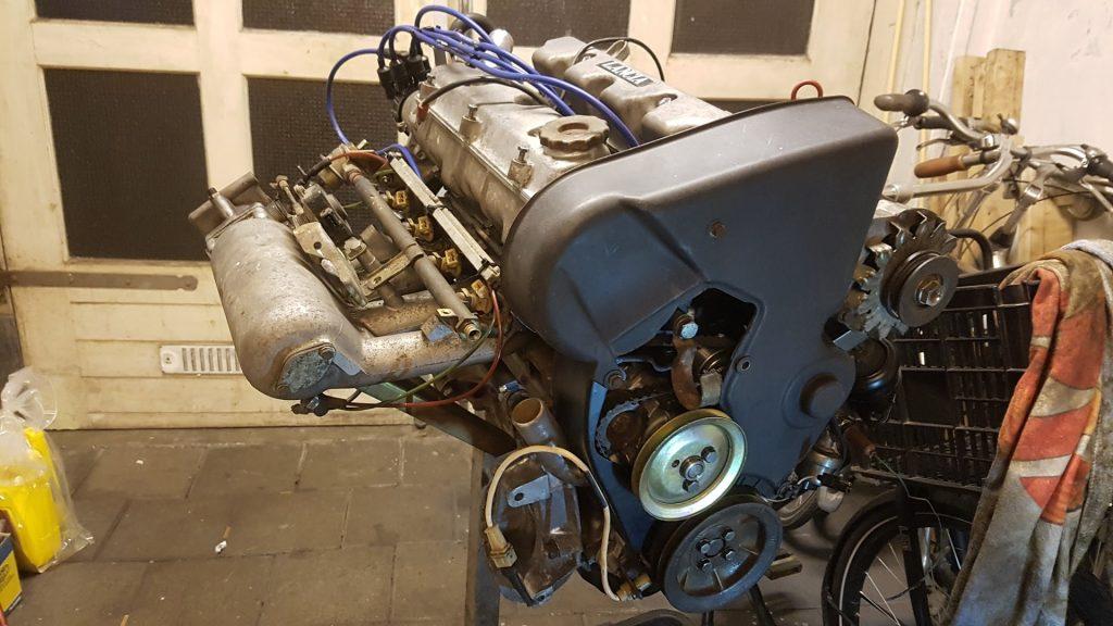 Lancia Beta Montecarlo Motor gereed