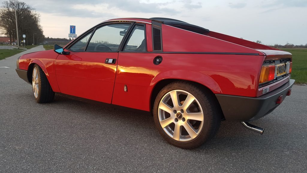 Lancia Beta Montecarlo verlaagd